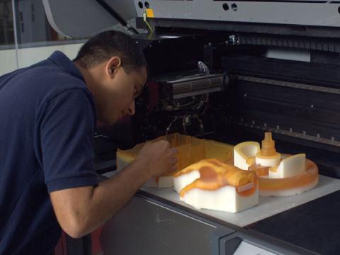 High resolution digital printing