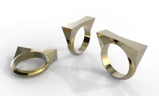 Ring Designs in Rhino