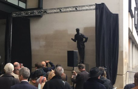 George Orwell unveiling