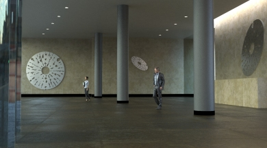 Visualisation of sculpture for Almuth Tebbenhoff